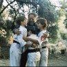 Still of Chad Power, Max Elliott Slade, Michael Treanor and Victor Wong in 3 Ninjas