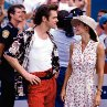 Still of Jim Carrey and Courteney Cox in Ace Ventura: Pet Detective