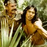 Still of Sam Neill and Jason Scott Lee in The Jungle Book