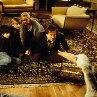 Still of Robin Williams, Kirsten Dunst, Bonnie Hunt and Bradley Pierce in Jumanji