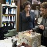 Still of Minnie Driver and Hilary Swank in Conviction