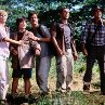 Still of Téa Leoni, William H. Macy and Sam Neill in Jurassic Park III