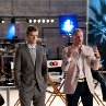 Still of Woody Harrelson and Justin Timberlake in Friends with Benefits