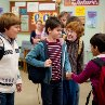Still of Grayson Russell, Zachary Gordon, Robert Capron and Karan Brar in Diary of a Wimpy Kid: Rodrick Rules