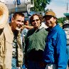 Still of Jim Carrey, Bobby Farrelly and Peter Farrelly in Me, Myself & Irene