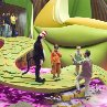 Mike Myers, Spencer Breslin, Dakota Fanning and Bo Welch in Dr. Seuss' The Cat in the Hat