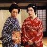 Still of Yûko Daike and Daigorô Tachibana in The Blind Swordsman: Zatoichi