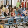 Still of Lacey Chabert, Lindsay Lohan, Rachel McAdams and Amanda Seyfried in Mean Girls