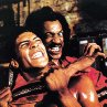 Still of Julius Carry and Taimak in The Last Dragon