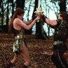Still of Arnold Schwarzenegger and Brigitte Nielsen in Red Sonja