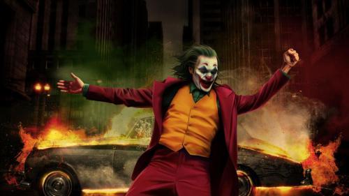 Joker Happy Dancing Wallpapper